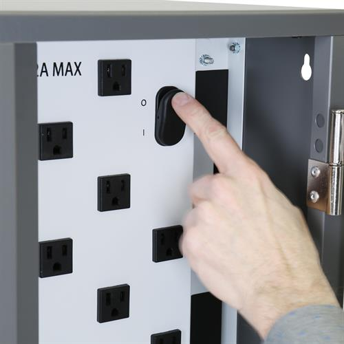 YES20 Tablet Charging Cabinet Switch