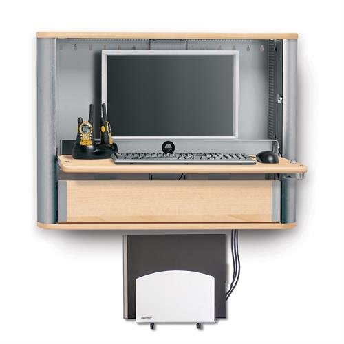 Monitor PC Wall Desk Pro Maple
