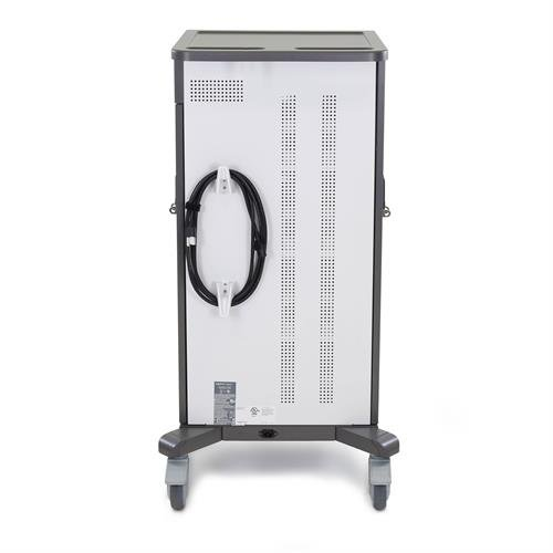 Tablet Cart YESTAB Vent and Cord Wrap