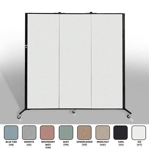 Healthflex Privacy 3 Panel Open & Colors