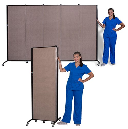 Healthflex Privacy 5 Panel Open & Folded