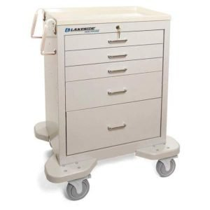 5 Drawer Emergency Cart Lakeside Mfg