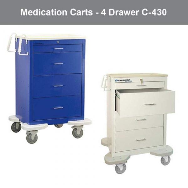 Lakeside Medication Carts C-430