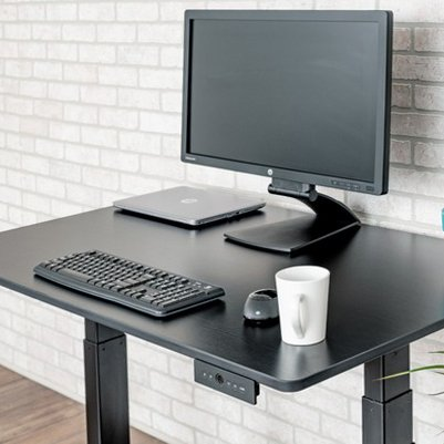 Height Adjustable Desk Electric Monitor