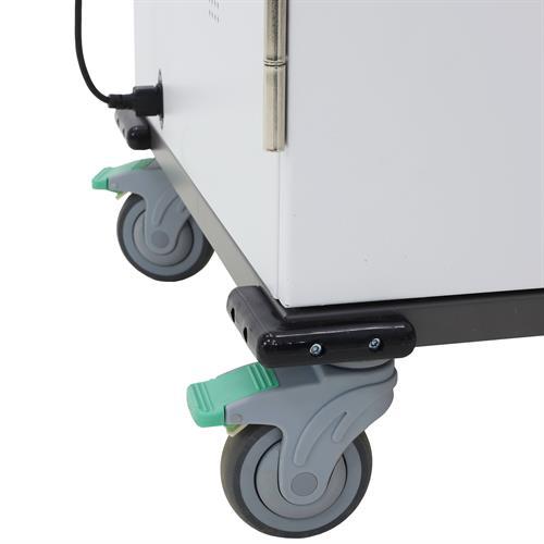 Ergotron YESBASGMPW4 Charging Cart