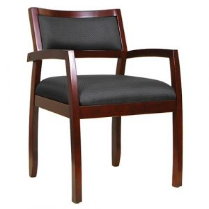 Cypress Guest Chair Cherry Wood Finish