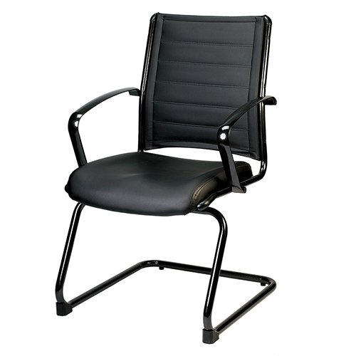 Europa-le333tnm-black-Guest-Chair