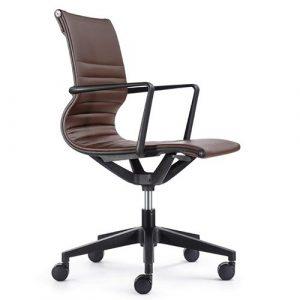 Kinetic Task Chair VT032V Brown Vinyl