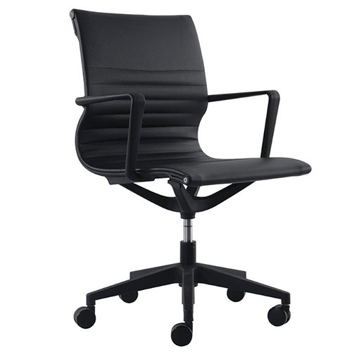 Kinetic Task Chair VT032V Black Vinyl