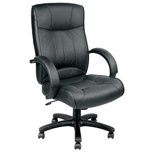 Oddyssey Black Leather chair