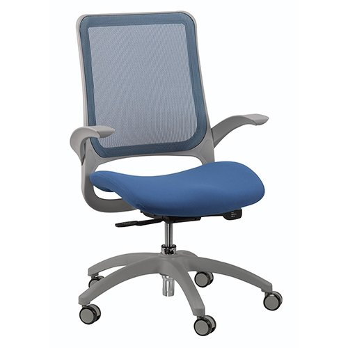 Hawk Task Chair Blue Mesh