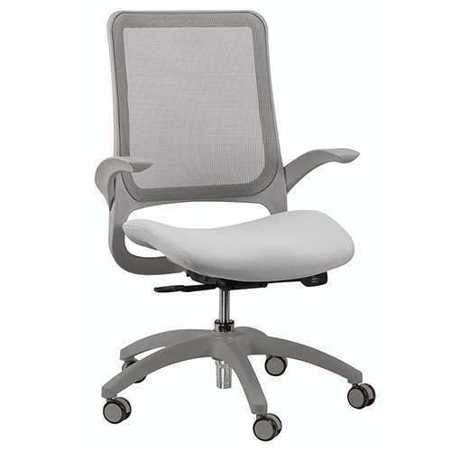 Hawk Task Chair Grey Seating Mesh