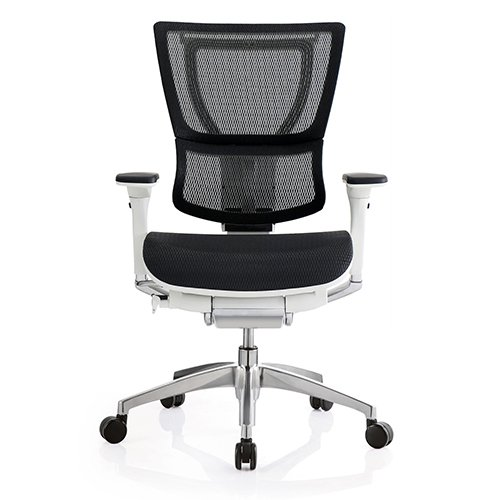 iOO Premium Chair Mesh White Frame Seating