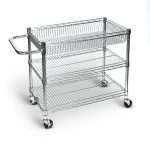 Large-wire-tub-cart-three-shelves