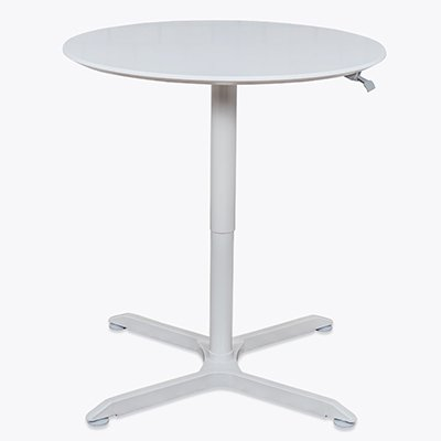 "Luxor Pneumatic Height Adjustable Table Base 32"" Round"
