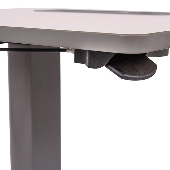 Luxor STUDENT-P Pneumatic Adjustable Height Student Desk - Lever