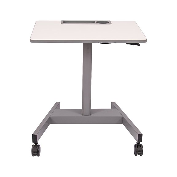 Luxor Pneumatic Adjustable Height Student Desk - STUDENT-P Front