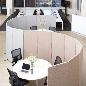 Reclaim Free Standing Acoustic Room Dividers
