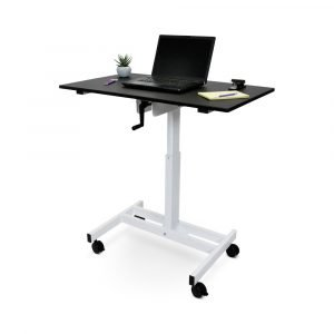 Luxor SC40 Sit to Standup Desk Laptop