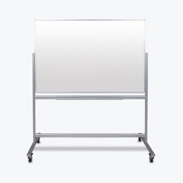 MMGB 60x40 mobile magnetic glass board