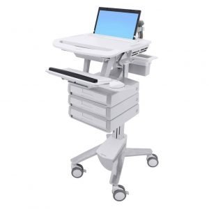 Ergotron 3 Drawer Medication Cart