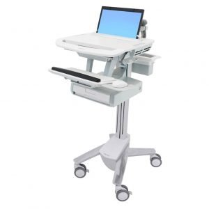 Ergotron single drawer medication styleview cart