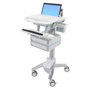 Styleview Laptop Cart 2 Drawer 1x2 SV43-1220