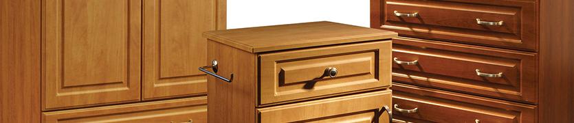Healthcare resident room Dressers