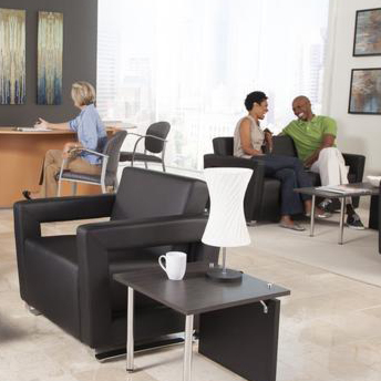 OFM Distinct Office Chair and Sofa Black
