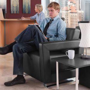 Distinct Lounge Waiting Room Seating