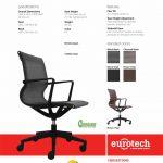 Kinetic Seating Eurotech Black or Brown Vinyl