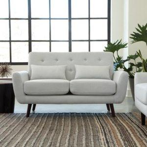 Mid Century Modern Love Seat OFM 161