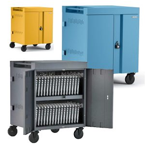Charging Carts, Cabinets & Powered Stations