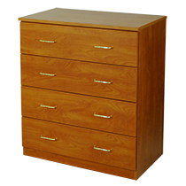4 Drawer Dresser for pPatient Room Made in USA