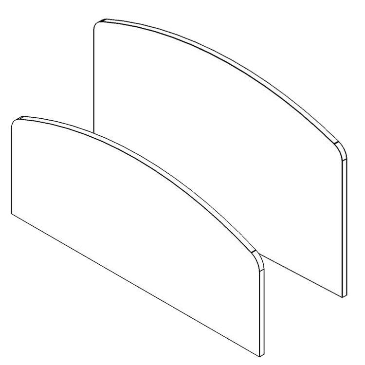 Bakagain Headboard & Footboard