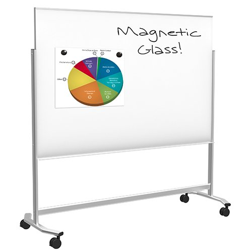 Balt Visionary Move Magnetic Glass Whiteboard
