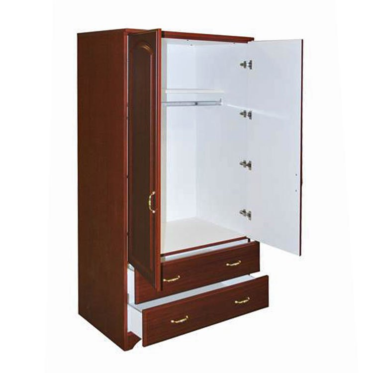 Baltic Patient Room Wardrobe Cherry Open
