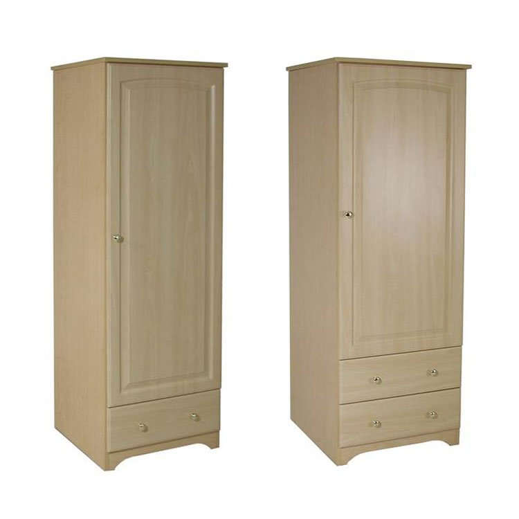 Baltic Patient Room Wardrobes 1 & 2 Drawer