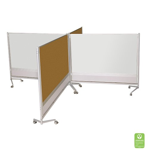 Cork & Magnetic Whiteboard Partitions