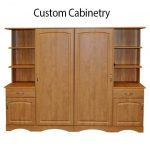 Custom Patient Room Cabinetry
