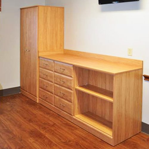 Custom Patient Room Cabinets