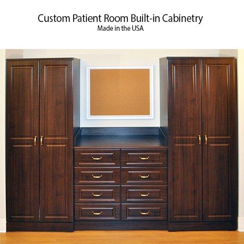 Nursing Home Custom built in cabinetry