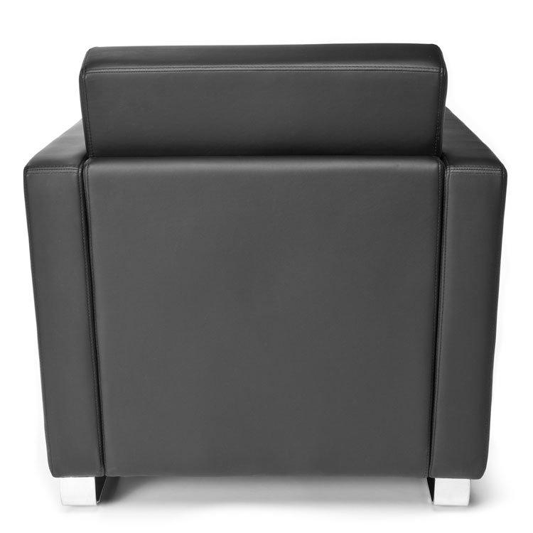 Distinct Series Lounge Seating Chair 831 Black Back