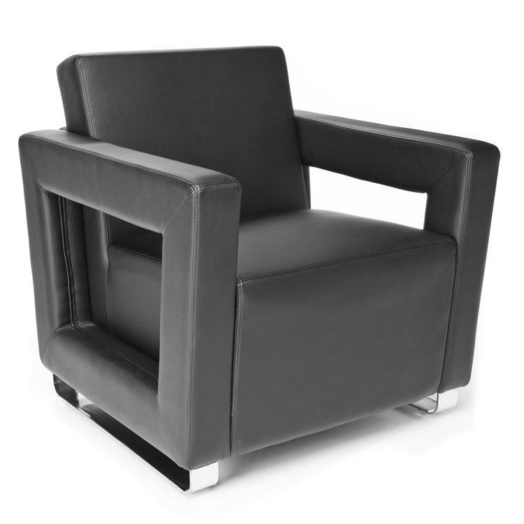 Distinct Series Lounge Seating Chair 831 Black