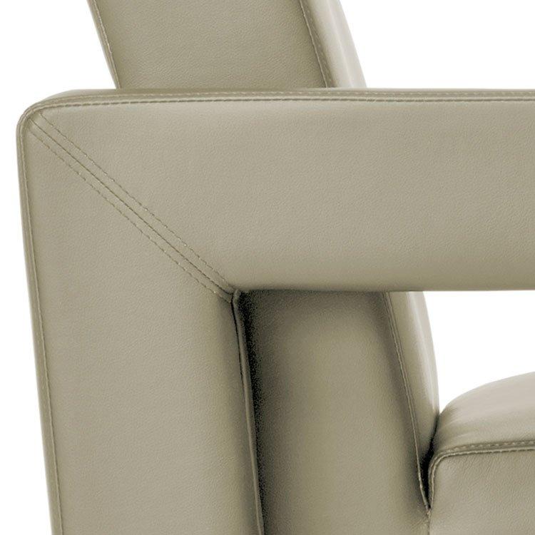 Distinct Series Lounge Seating 831 & 832 Taupe Arm Detail