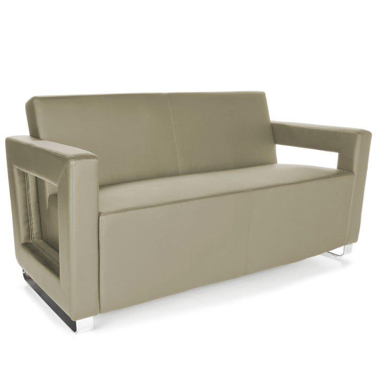 Distinct Series Lounge Seating Sofa 832 Taupe