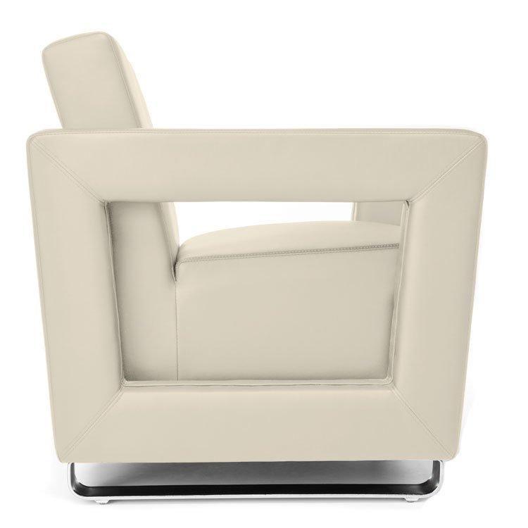 Distinct Series Lounge Seating 831 & 832 Cream Side