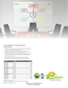 Enlighten Glass Dry Erase Markerboards Brochure 1