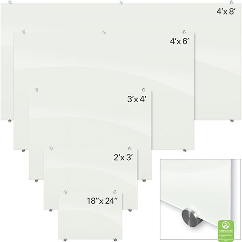 Glass Dry Erase boards 5 sizes