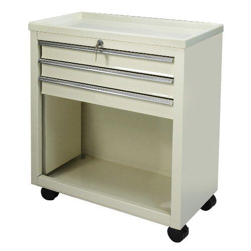 Medical Bedside Carts – 3 Drawer Beige BV06